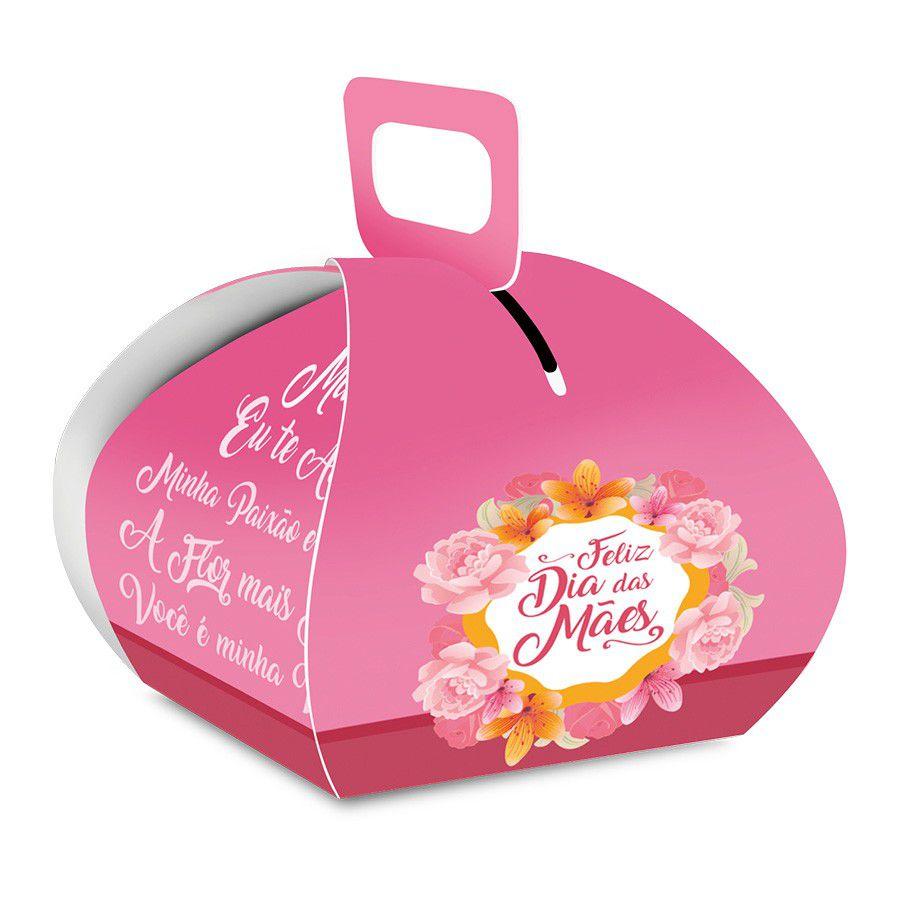 Caixa para Bem Casado Dia das Mães - 10 unidades  - www.doceriamirabella.com.br