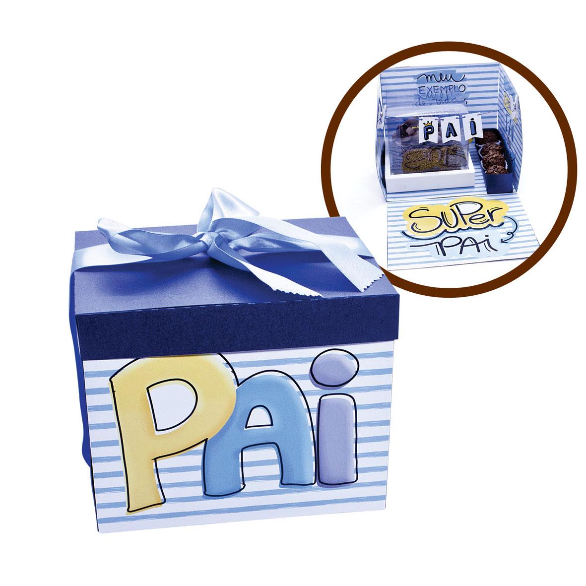 Caixa Surpresa Pai  - www.doceriamirabella.com.br