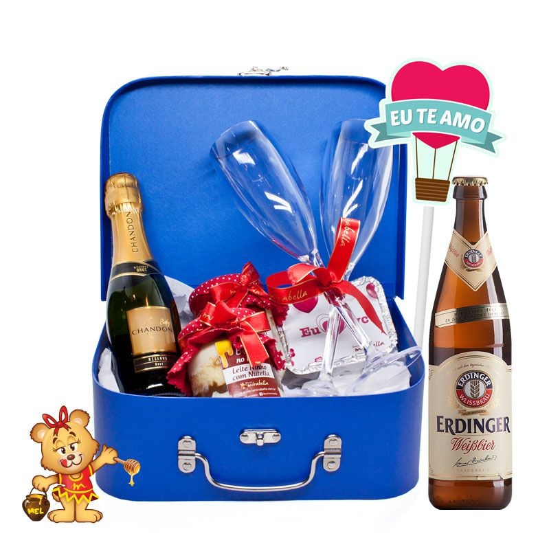 Cesta Amore Mio  - www.doceriamirabella.com.br