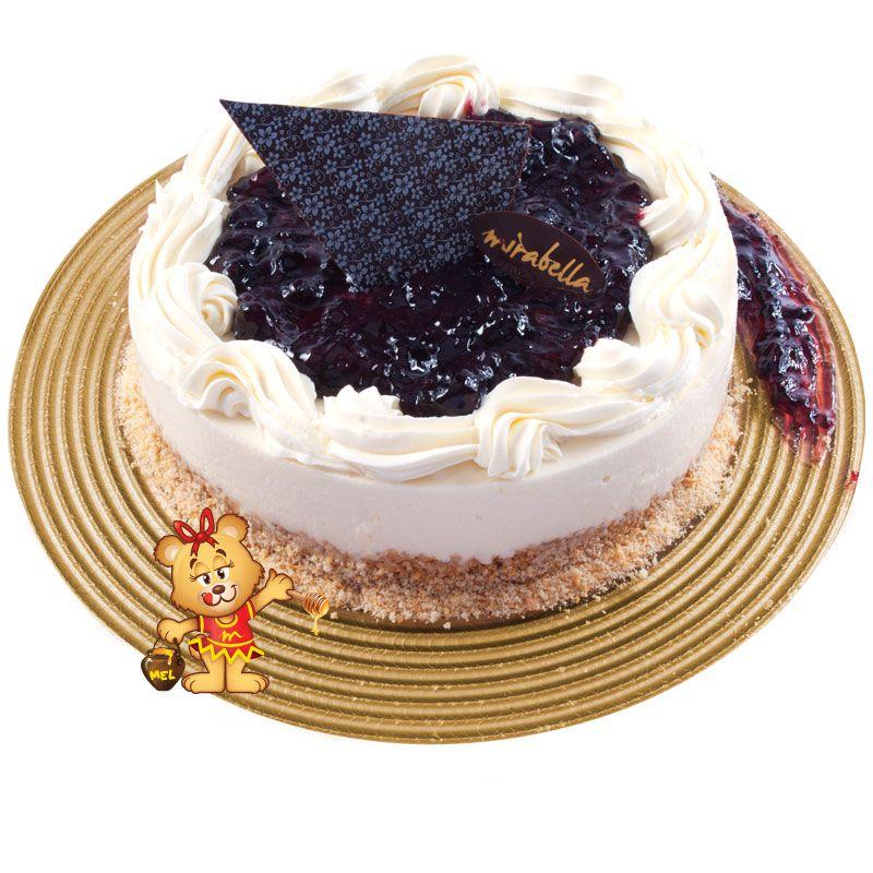 Cheesecake de Amora  - www.doceriamirabella.com.br