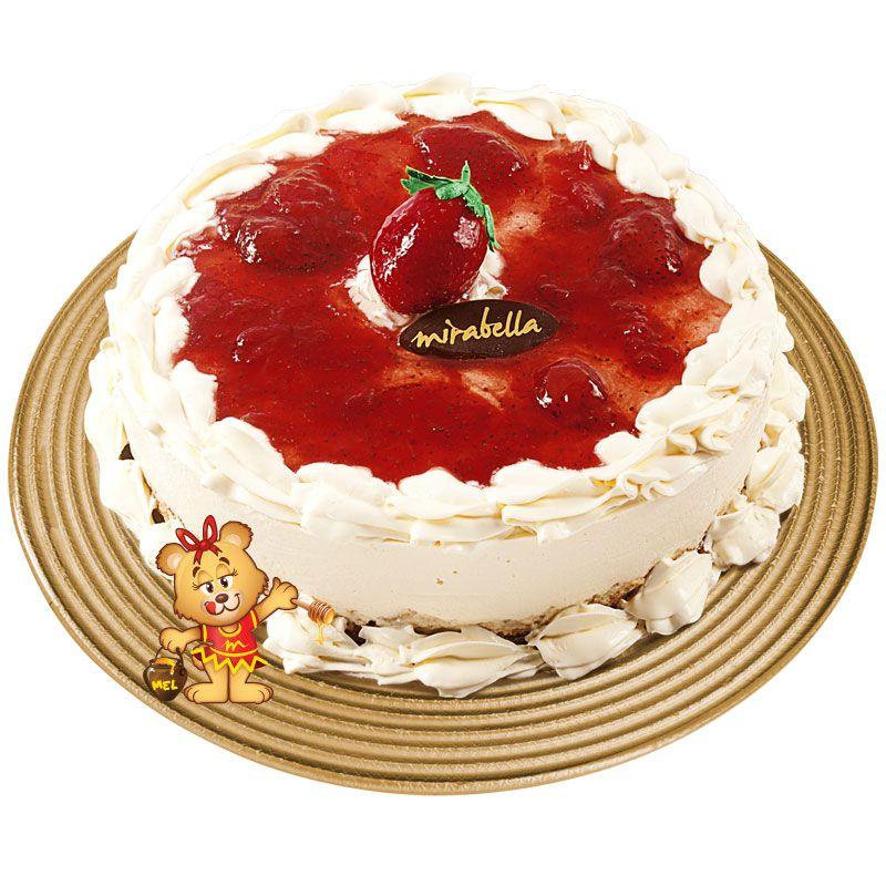 Cheesecake de Morango  - www.doceriamirabella.com.br