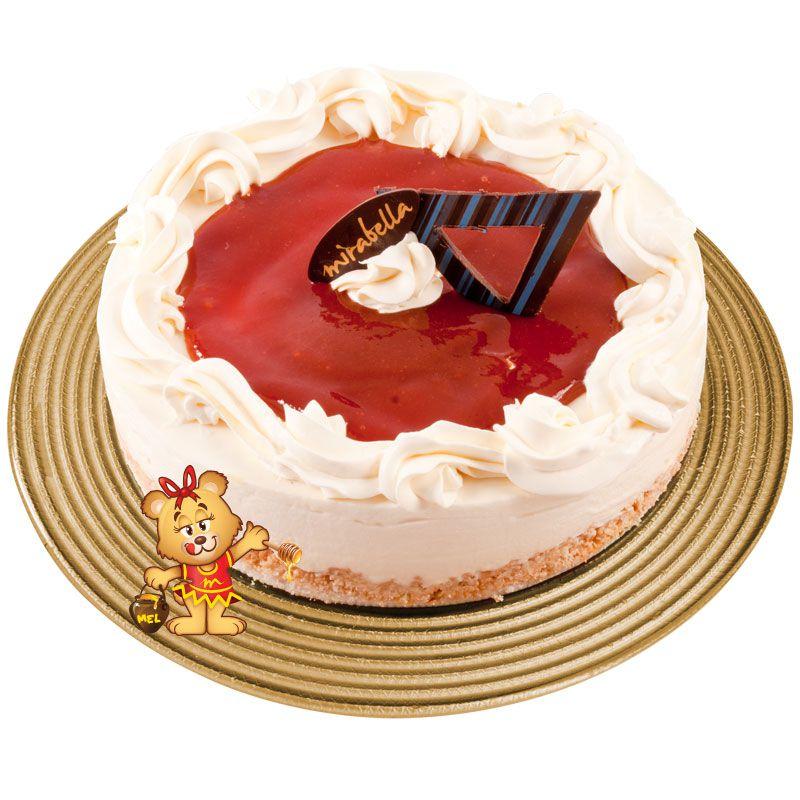 Cheesecake Romeu e Julieta  - www.doceriamirabella.com.br