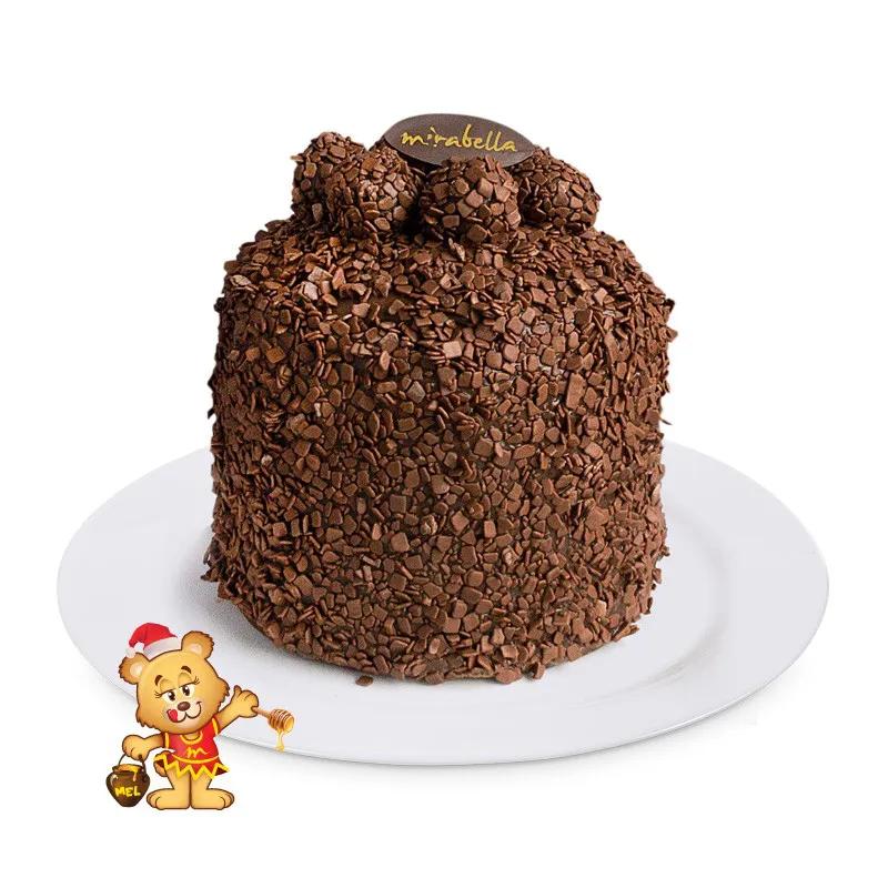 Chocotone de Brigadeiro  - www.doceriamirabella.com.br