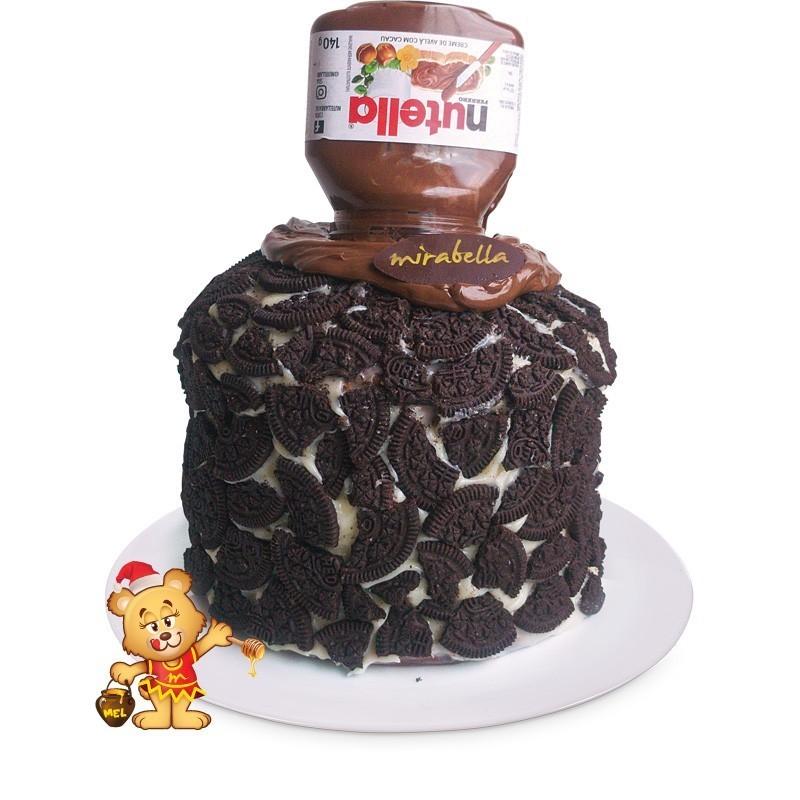 Chocotone de Oreo  - www.doceriamirabella.com.br