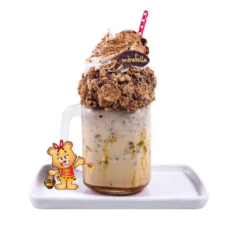 Crazy Shake de Cookies  - www.doceriamirabella.com.br