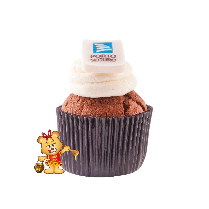 Cup Cake Personalizado - Kit com 10 unidades  - www.doceriamirabella.com.br