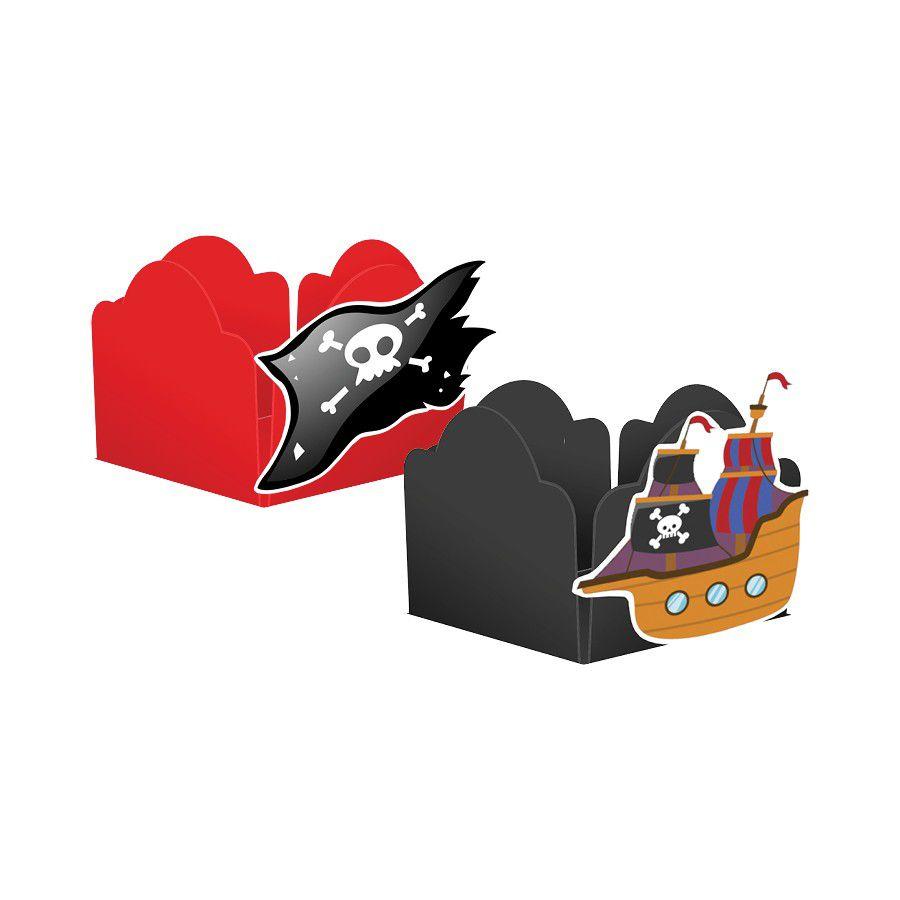 Forminha para Doces Piratas - 24 unidades sortidas  - www.doceriamirabella.com.br