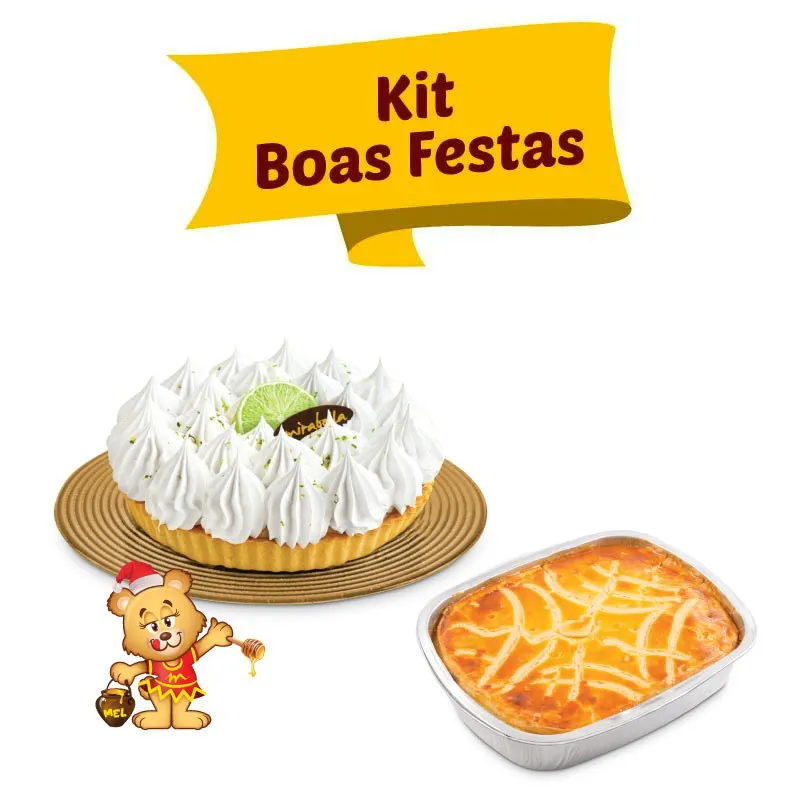 Kit Boas Festas  - www.doceriamirabella.com.br