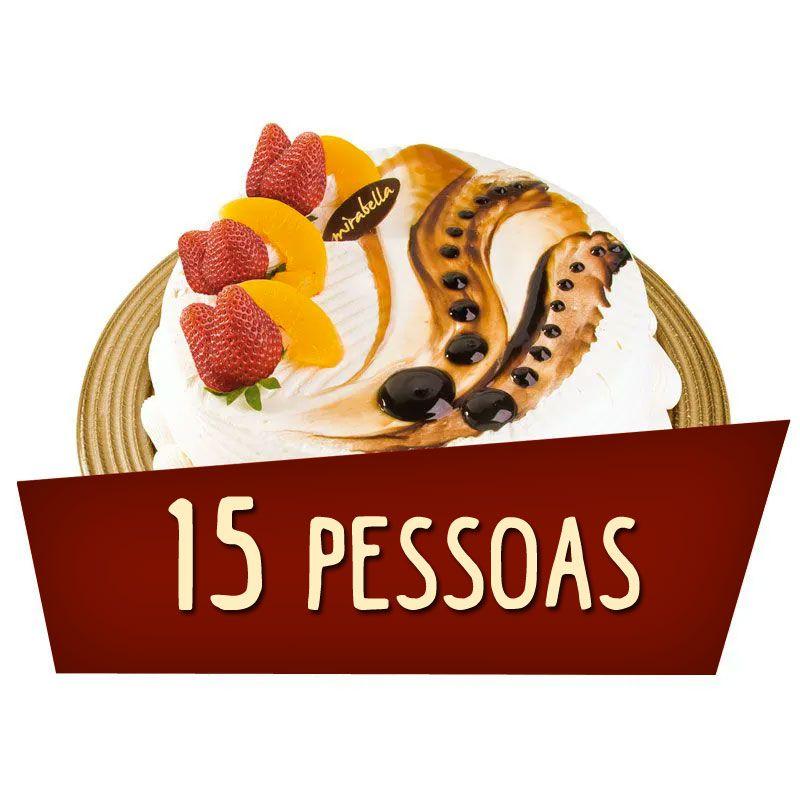 Kit Festa 15 Pessoas  - www.doceriamirabella.com.br