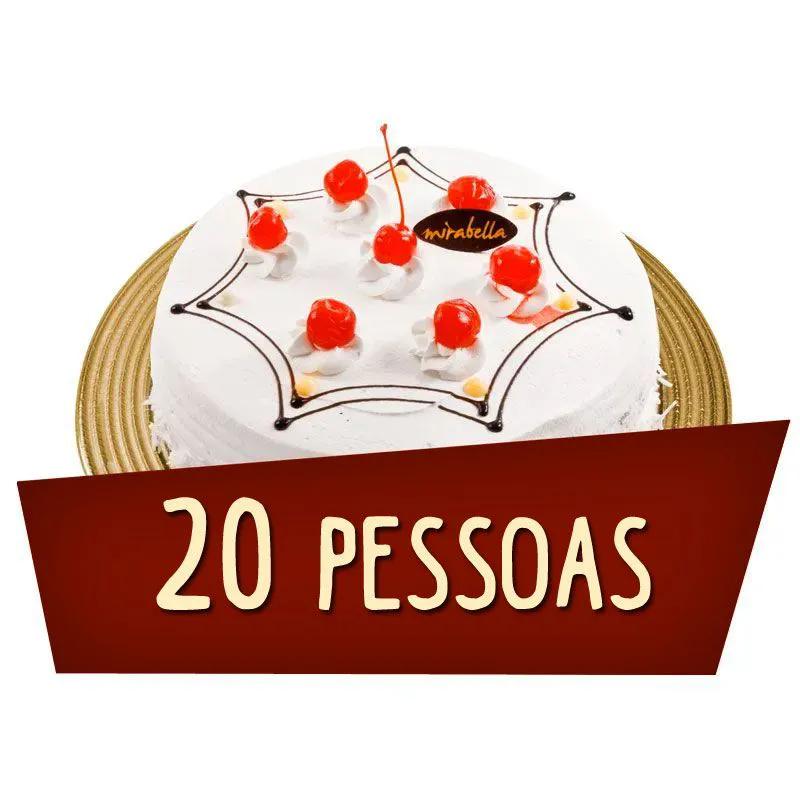 Kit Festa 20 Pessoas  - www.doceriamirabella.com.br