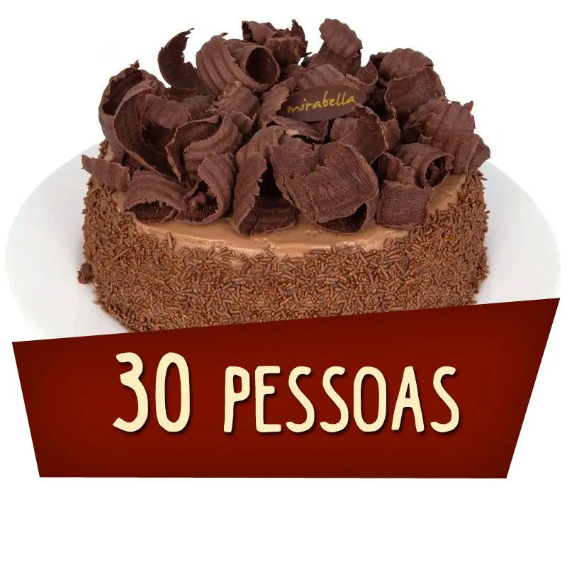 Kit Festa 30 Pessoas  - www.doceriamirabella.com.br