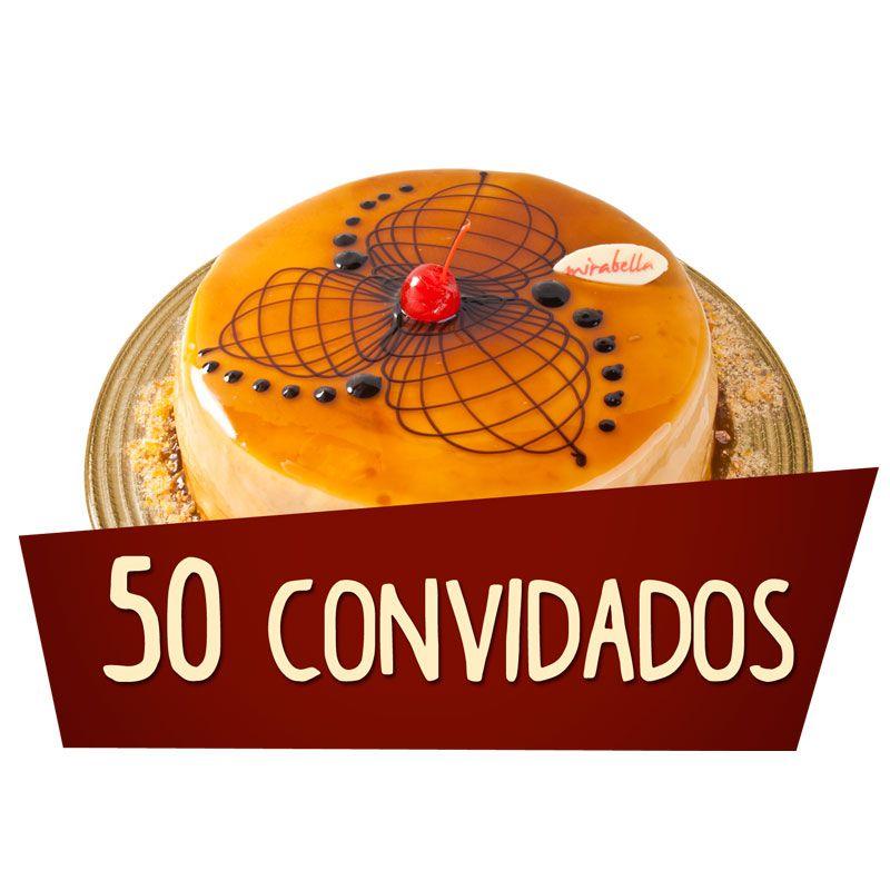 Kit Festa 50 Convidados  - www.doceriamirabella.com.br