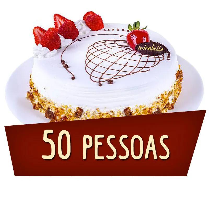Kit Festa 50 Pessoas  - www.doceriamirabella.com.br