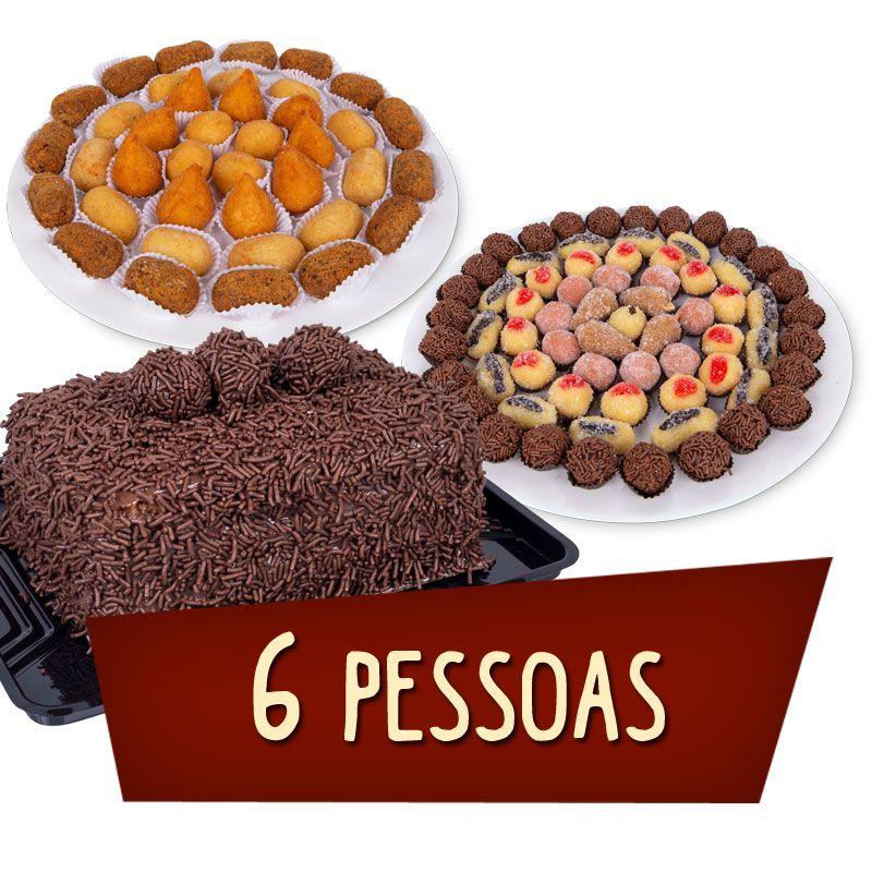 Kit Festa - 6 Pessoas  - www.doceriamirabella.com.br