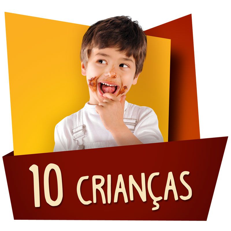 Kit Festa Kids 10 Crianças  - www.doceriamirabella.com.br