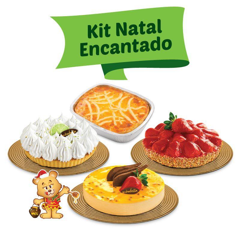 Kit Natal Encantado  - www.doceriamirabella.com.br