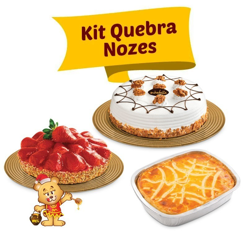 Kit Quebra Nozes  - www.doceriamirabella.com.br