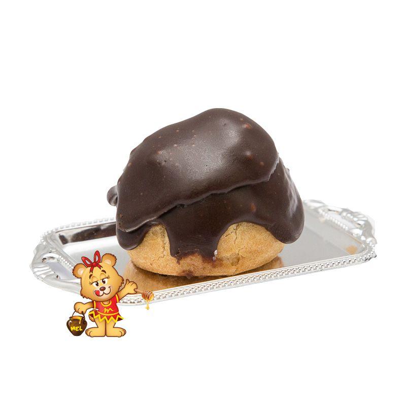 Mini Carolina de Chocolate - Kit com 30 unidades  - www.doceriamirabella.com.br