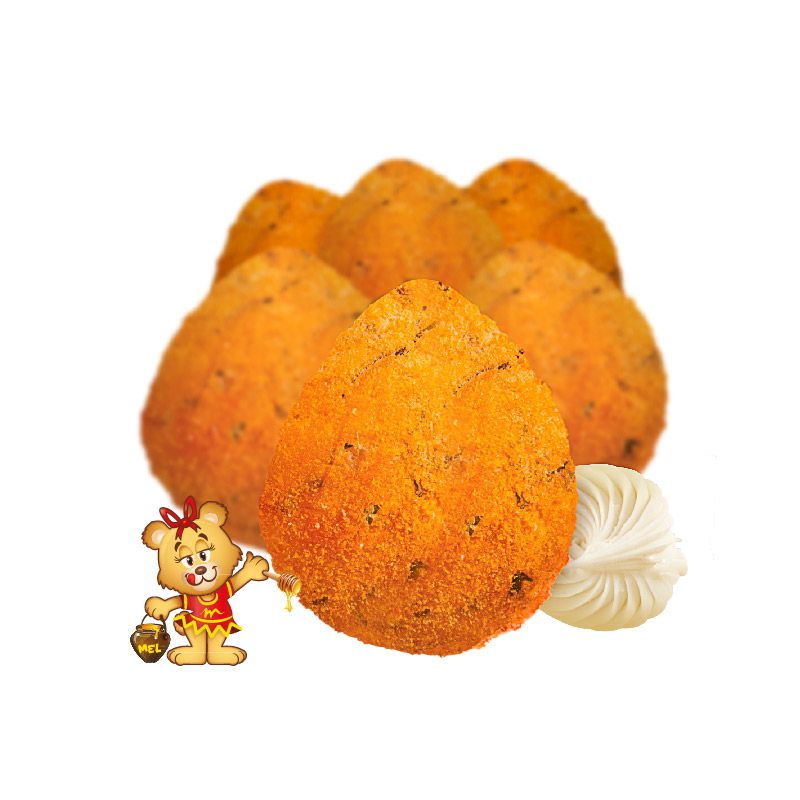 Mini Coxinha de Frango com Catupiry  - www.doceriamirabella.com.br