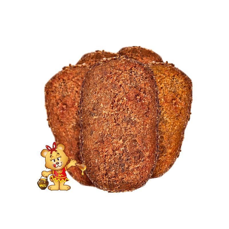 Mini Croquete de Carne  - www.doceriamirabella.com.br
