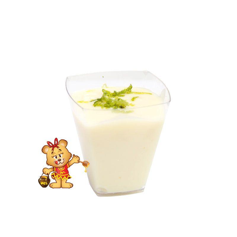 Mini Mousse de Limão - Kit com 25 unidades  - www.doceriamirabella.com.br