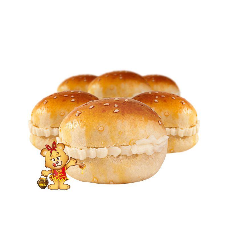 Mini Pão de Batata com Catupiry - Kit com 25 unidades  - www.doceriamirabella.com.br