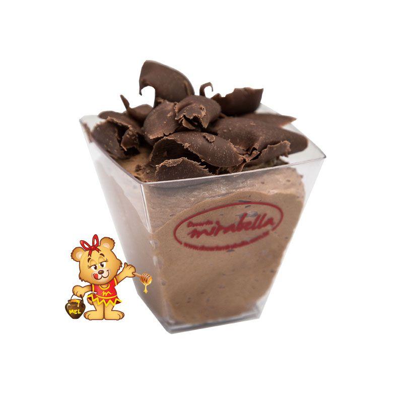 Mousse de Chocolate  - www.doceriamirabella.com.br