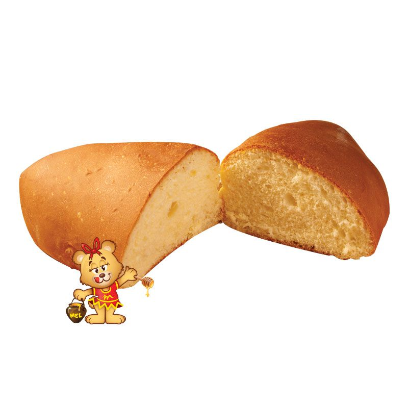 Pão de Leite (aprox. 550g)  - www.doceriamirabella.com.br