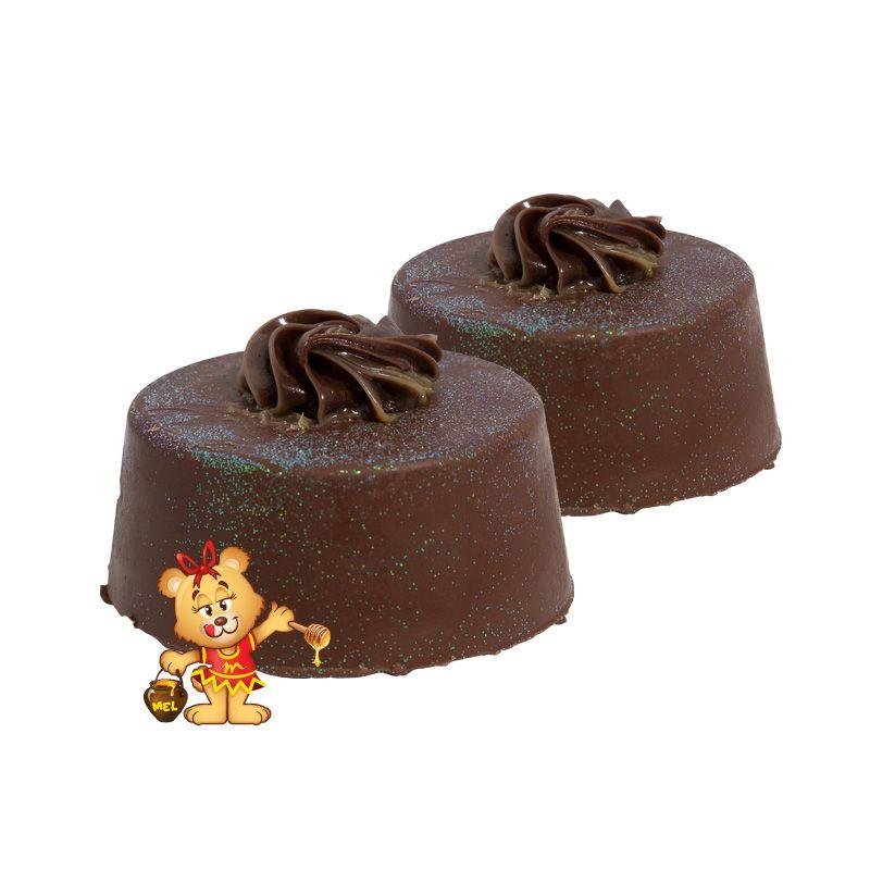 Pão de Mel Recheado de Trufa  - www.doceriamirabella.com.br