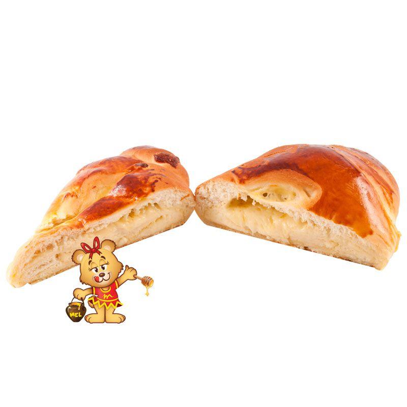 Pão Folhado de Queijo (aprox. 850g)  - www.doceriamirabella.com.br