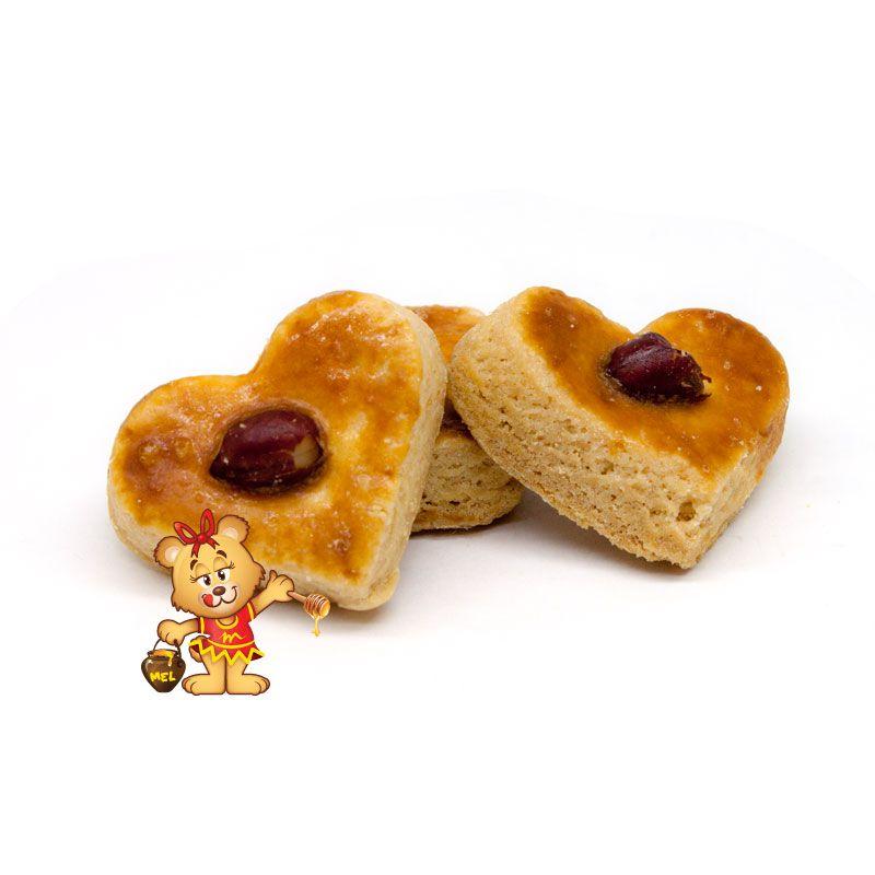 Petit Four Amendoim - pedido mínimo 200g  - www.doceriamirabella.com.br