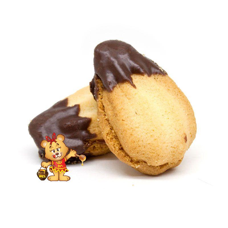 Petit Four Casadinho ao Chocolate - pedido mínimo 200g  - www.doceriamirabella.com.br