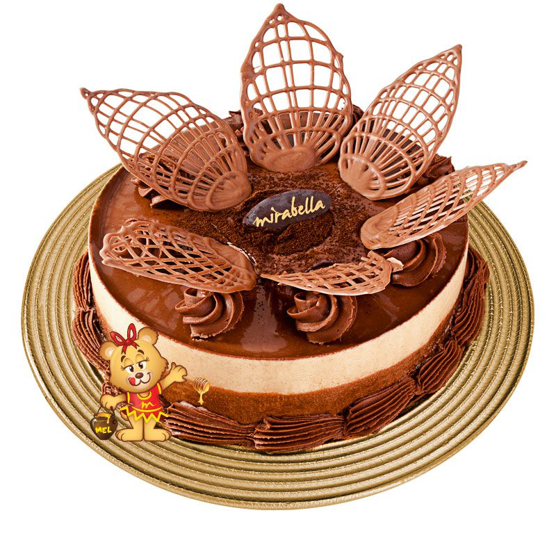Torta Amor Perfeito  - www.doceriamirabella.com.br