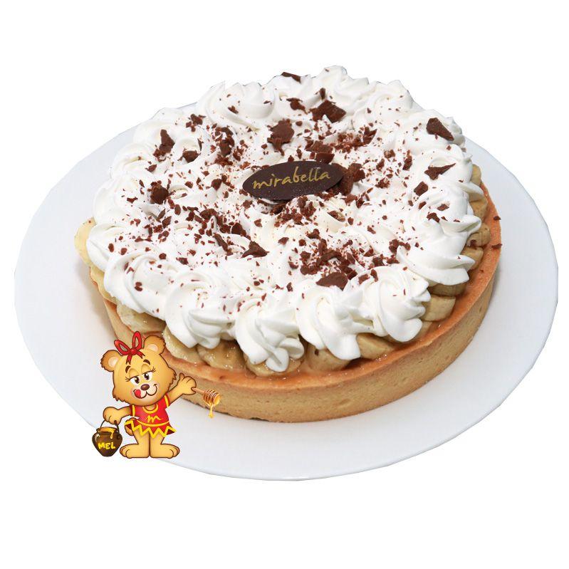 Torta Banoffee  - www.doceriamirabella.com.br