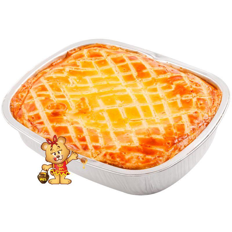 Torta de Frango com Catupiry  - www.doceriamirabella.com.br