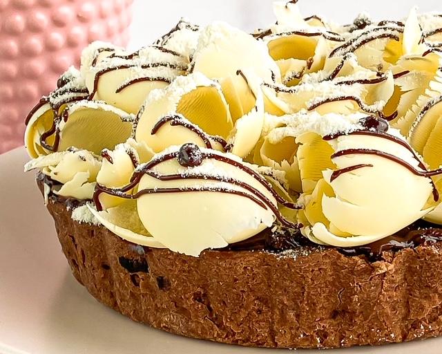 Torta de Leite em Pó com Nutella  - www.doceriamirabella.com.br