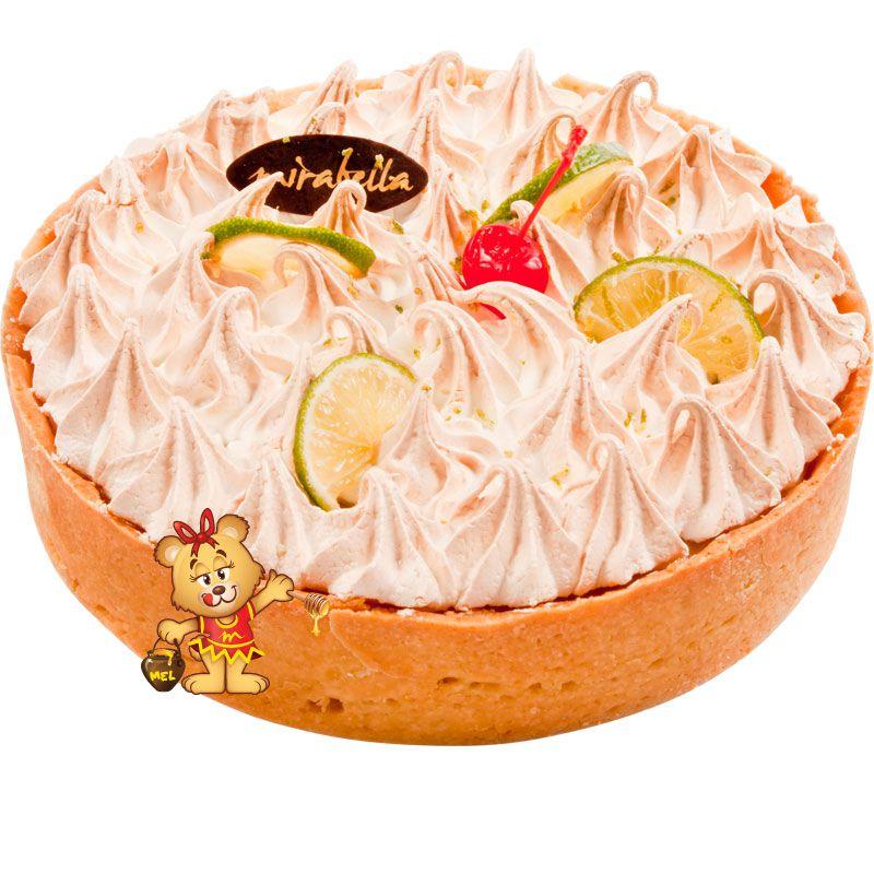 Torta de Limão Forneada  - www.doceriamirabella.com.br