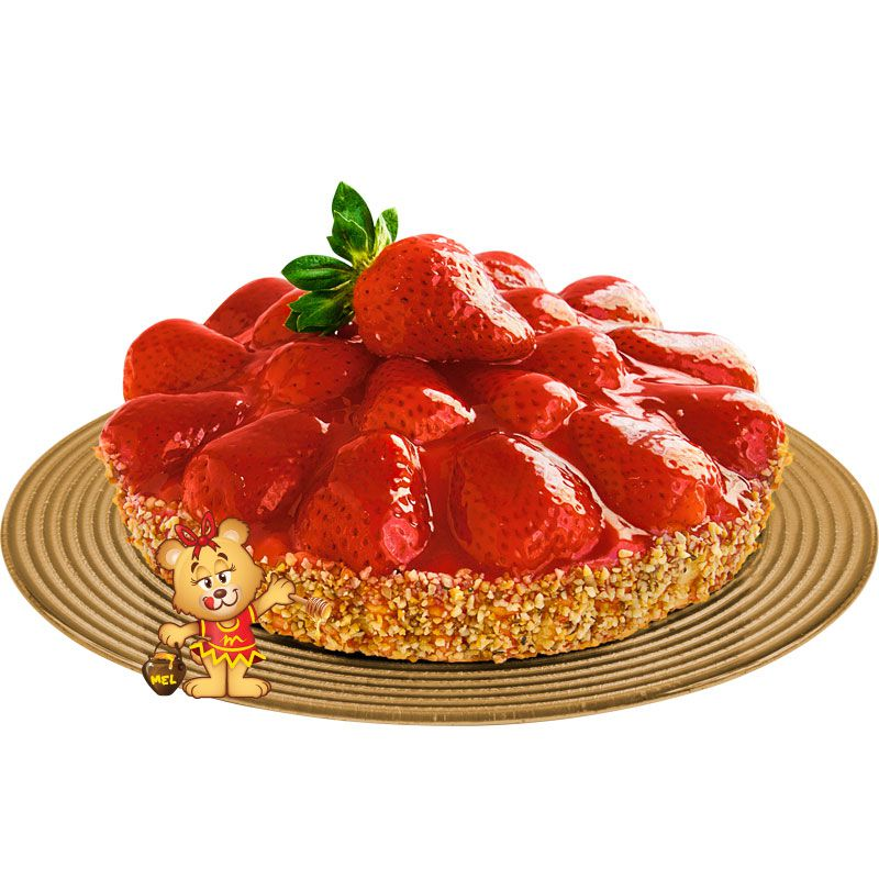 Torta de Morango  - www.doceriamirabella.com.br