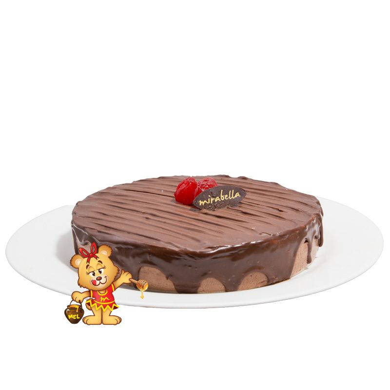 Torta Mousse de Chocolate  - www.doceriamirabella.com.br