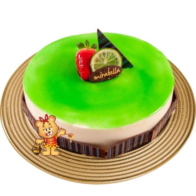 Torta Mousse de Limão  - www.doceriamirabella.com.br