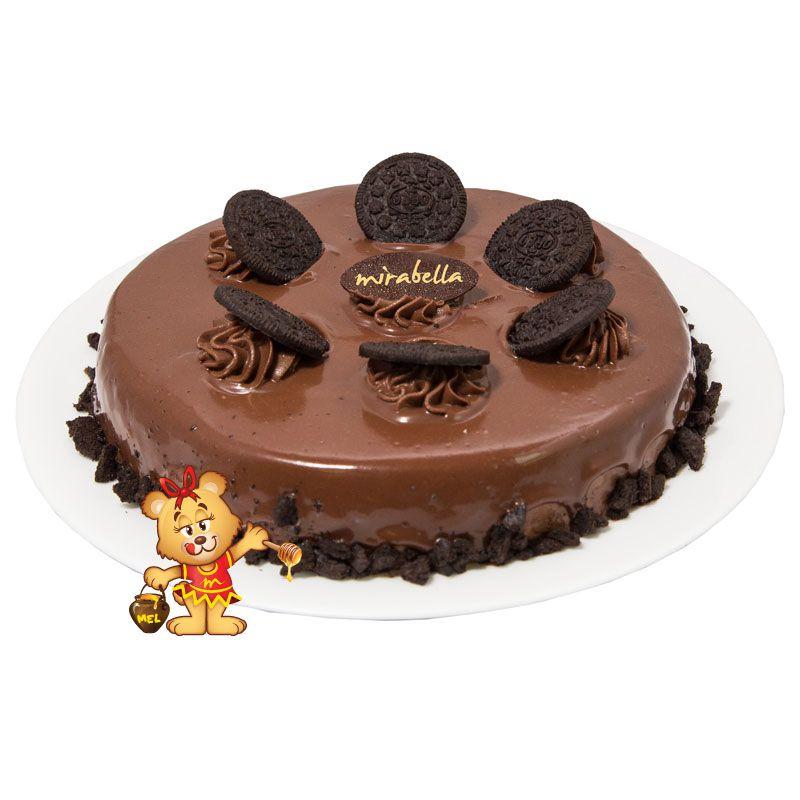 Torta Mousse de Oreo®  - www.doceriamirabella.com.br