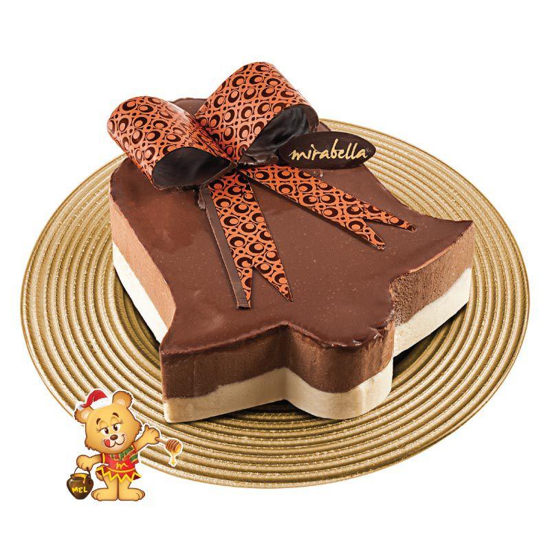 Torta Mousse de Sino (1kg)  - www.doceriamirabella.com.br
