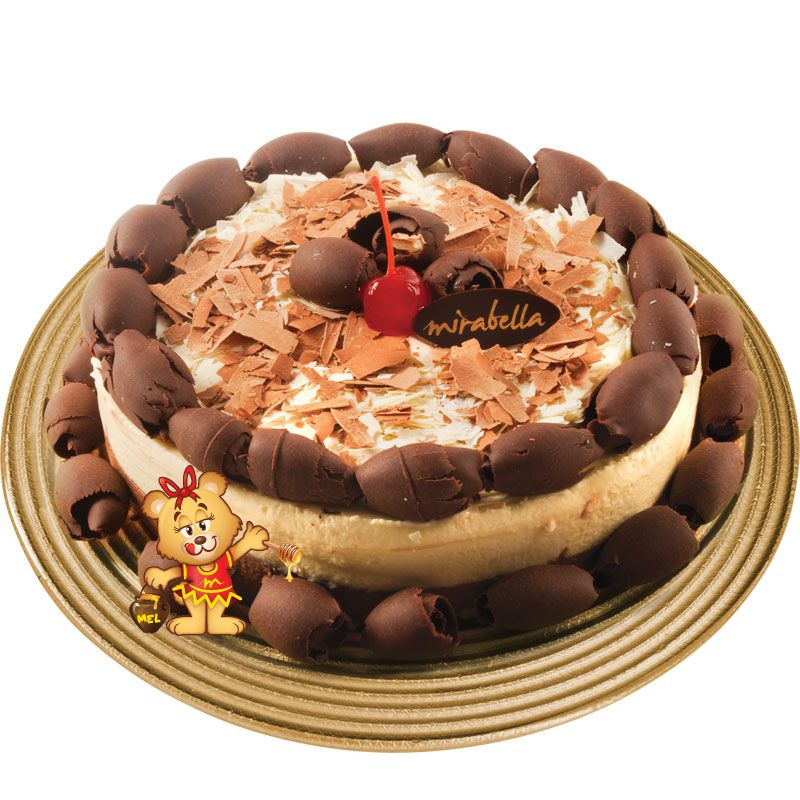Torta Mousse Duo Chocolate  - www.doceriamirabella.com.br