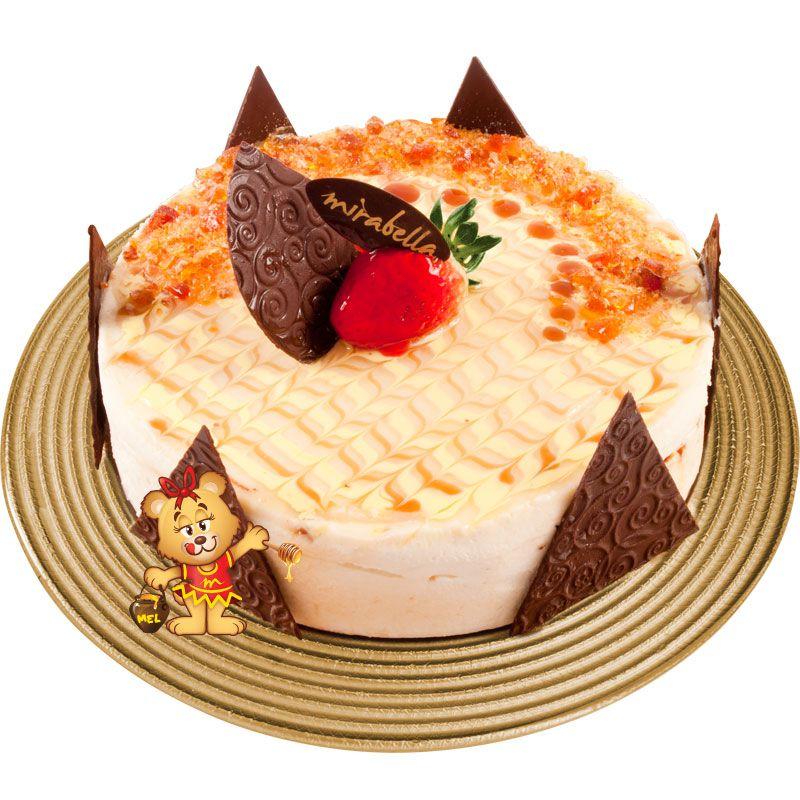 Torta Mousse Sonho Crocante  - www.doceriamirabella.com.br