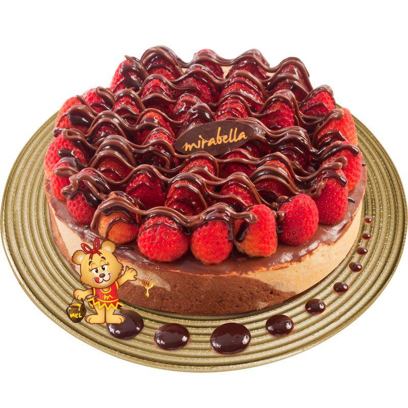 Torta Tentação (1,2kg)  - www.doceriamirabella.com.br