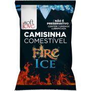 Camisinha Comestivel Fire Ice - Sof tLove