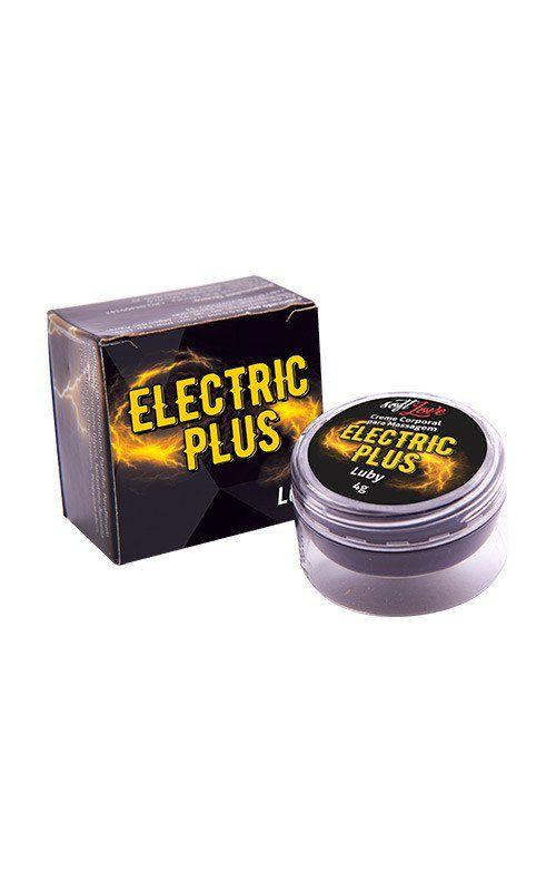 Electric Plus Luby - Excitante Eletrizante Unissex 4g - Soft Love