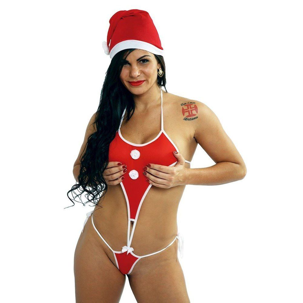 Fantasia Ajudante Do Papai Noel