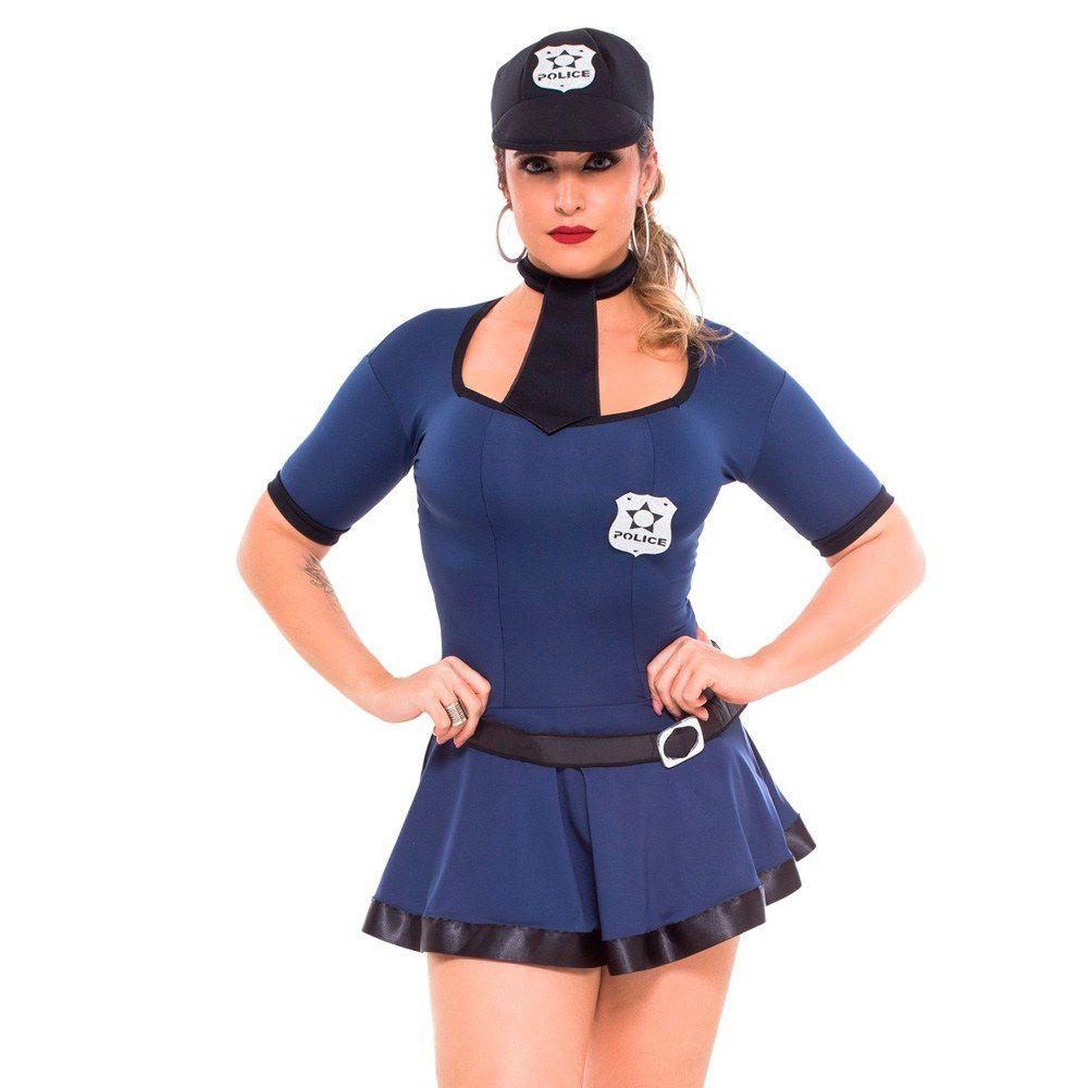 Fantasia Policial Violeta - Sapeka