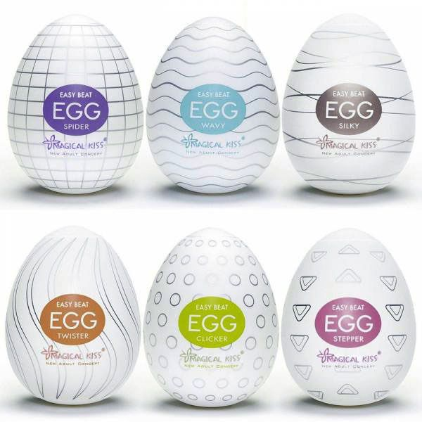Masturbador Egg - Varios Modelos